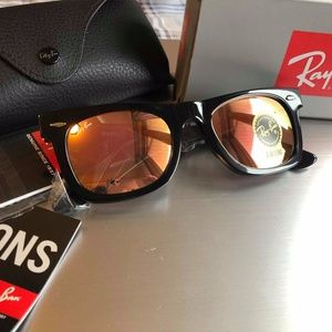 New Authentic Ray Ban RB2140 WAYFARER